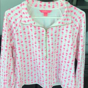 Lilly Pulitzer Fineapple Cropped Skipper L